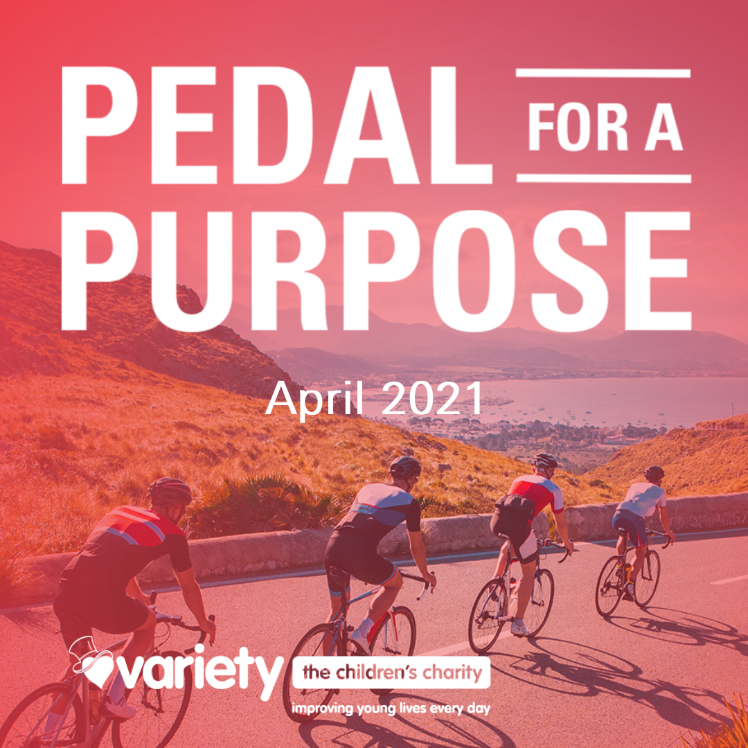 Variety's Pedal for a Purpose logo
