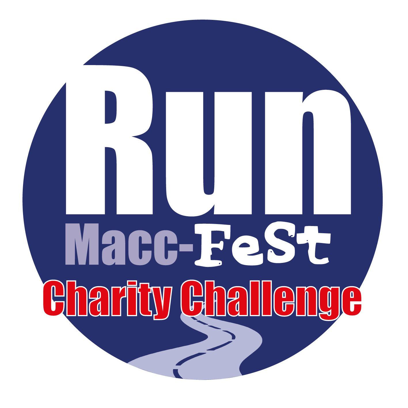 Run Macc Fest Charity Challenge logo