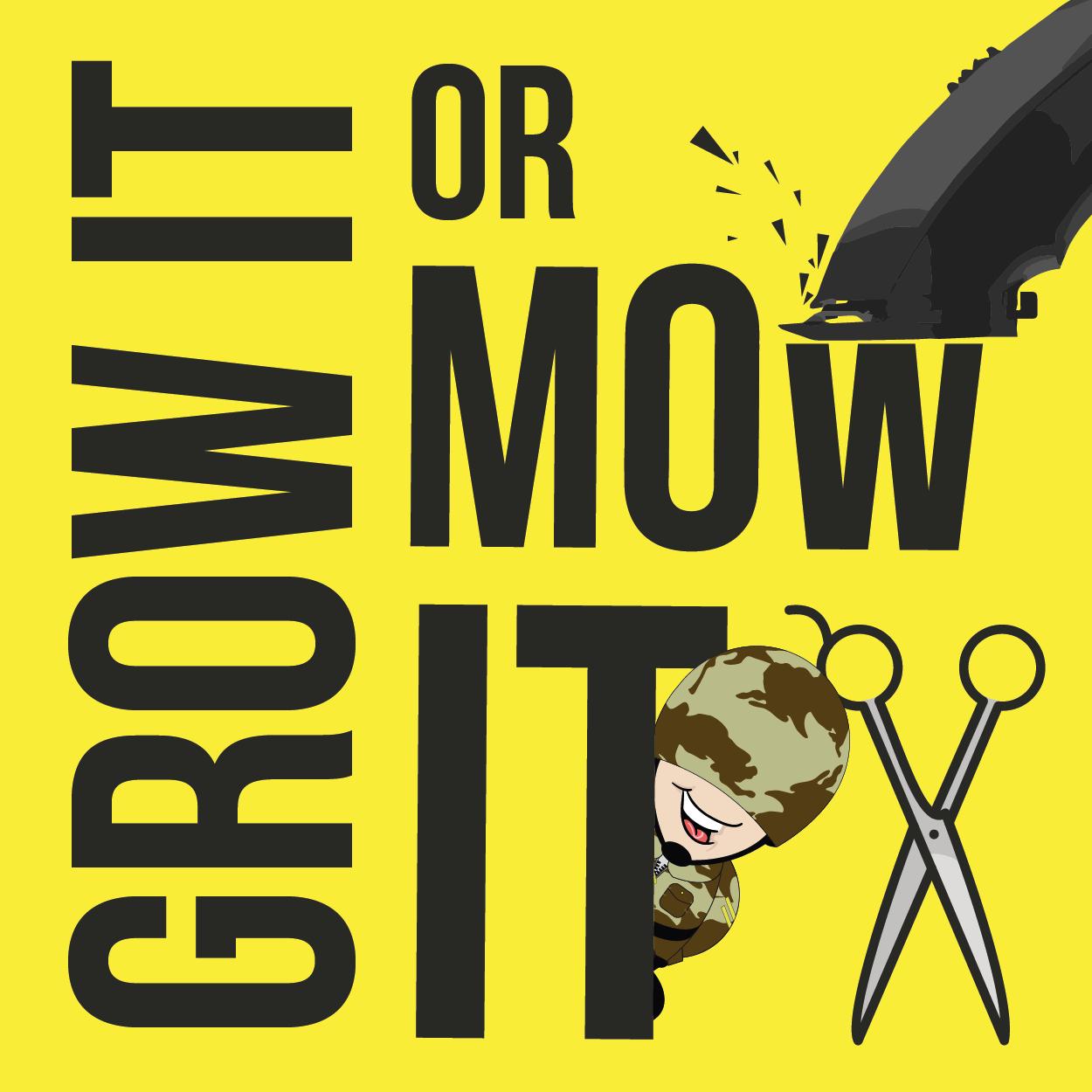Grow it or Mow it? logo