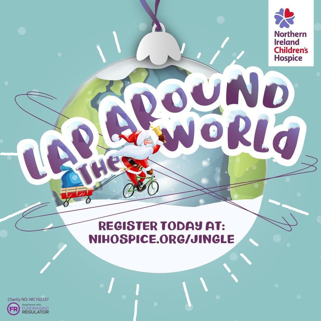 Lap around the World  logo