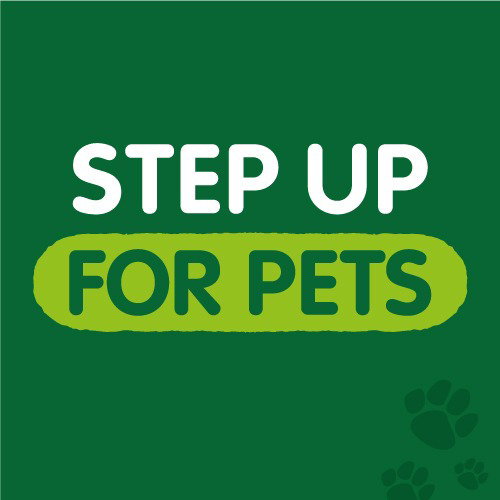Step Up for Pets logo